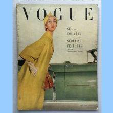 Vogue Magazine - 1950 - July